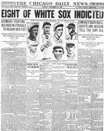 An analysis of the history of baseball in america and the black sox scandal of 1919